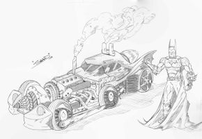 Steam Mobile and Batsy by sidrulzz