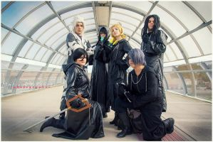 Organization XIII - Cosplay by Roxaoleen