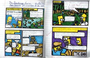 Simpsons Danny Champion of the World 1991 by Carnivius