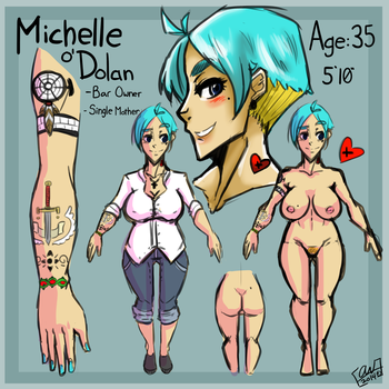 Michelle O'Dolan by Warxend