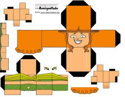 Cubeecraft: Izzy by amigodtodo