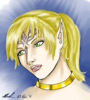 Of Elves and Humans - Lenya Mahariel by sharem