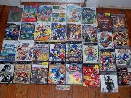 *My Awesome Video Game Collection* by SegaDisneyUniverse