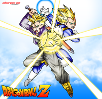 Vegeta X Trunks by Skurpix