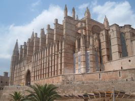 Palma Cathedral in Mallorca by GothicKitzzy