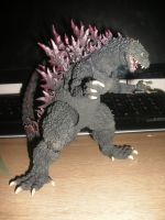 New Toy - SH MonsterArts Godzilla 2000 by Burninggodzillalord