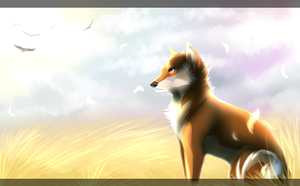 Grassy Fields with Speedpaint! by Capukat