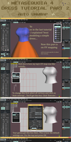 .:: Metasequoia 4 Simple dress pt 2 - Tutorial ::. by AneCoco