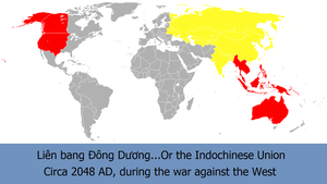 The Indochinese Union by kyuzoaoi