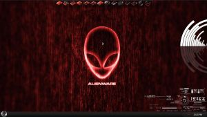 Dark Red AlienWare by IZzwan125