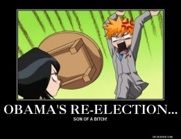 Obama's Re-election by 9Bleach6