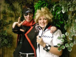 Lavi and Roxas by TaylorTyper