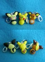 Chu charms by Foureyedalien