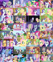 Flarity/Rarishy Collage by ThePoneSenpai