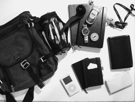 Traveller's Kit by aestheticartist