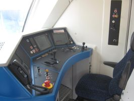 Siemens Vectron cab by martin749000