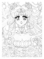 Sailor Moon Sketch #2 by Tomo-Chi