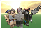 Roblox - Group Photo by Godangelhero