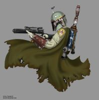 Boba Fett: Bounty Hunter by Tionniel