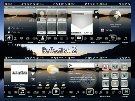 Reflection 2 Theme by CAY720325