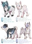 Gemstaffs - adoptable auctions - CLOSED - 2 by Fuki-adopts