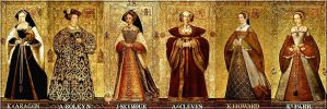 Wives of King Henry by peteandco
