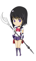 Sailor Saturn by Hachi-Michi