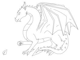 2. Dragon of Earth (Lineart) by DragonThemes
