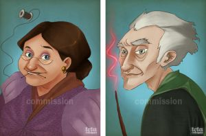 HP: Commissions by Loleia