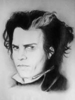 Johnnie Depp - Sweeney Todd by Michelkuchiki