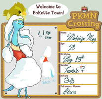 PKMN Crossing - Maddie by dynamo5