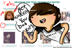 ImmortalHD .:Selfie awards:. by Jenetik1
