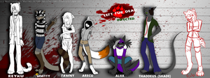 LeftFURdead: Infected Lineup (WIP2) by WhittyP308