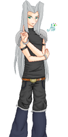 SwitchValentine's Sephiroth by BlossomingArtist