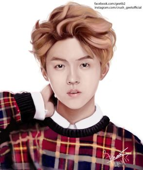 LUHAN by purpleflowerdraws