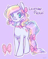 Lavender Pastel by Churobu