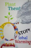 Stop Global Warming:Plant them by kn33cow