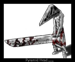 Pyramid Head by macawnivore
