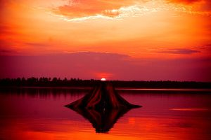 Rainbow flowage by f0xychick3n