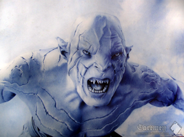 Azog the Defiler by Caremey