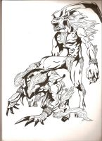 Ifrit and Ifrit by DarkMessengerI-X