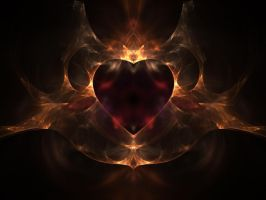 Flaming Heart by tsims533