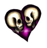 Skull Heart by Metalhead99