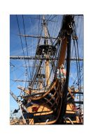 HMS Victory No4 by unclejuice