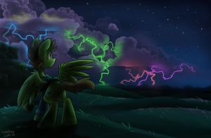 Neon Storm by Shadowlux100
