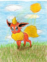 Flareon Color Pencils by FlaraTheFlareon