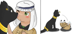 Hetalia - Chibi!Egypt by Sussurchan
