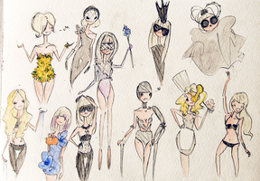 GAGA x 11 by LL0ND0N