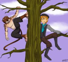 Oops... Is this your tree? by Myrcury-Art