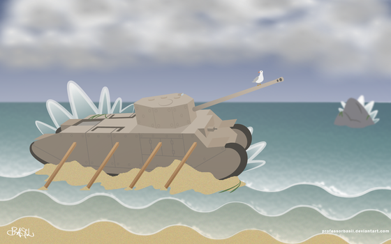 Shipwrecked by ProfessorBasil